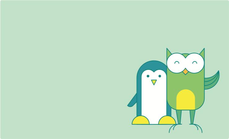 Специализация Administrator Linux background